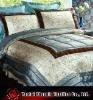 embroidered taffeta comforter set