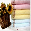 embroidery 100% cotton face towels