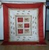 embroidery floret quilt