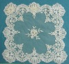 embroidery lace tablecloth/handmade tablecloth/lace tablecloth