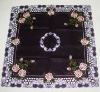embroidery pattern cutwork table cloth