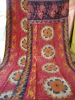 ethinic indian handmade old vintage 100% cotton reversible kantha quilt/throw