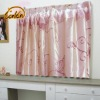 excellent quality printed taffeta polyester window curtain