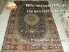 expensive persian rug 4 by 6 handmade silk wall