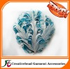 fashion colored nagorie curly feather pads