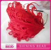 fashion curly feather headband