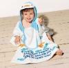 fashion cute animal hood duck baby hooded towel