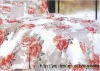 fashion design and high quality peach skin bedding set