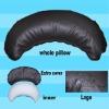 fashionable moon shape home cushion