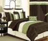 faux silk comforter set