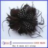 feather hair flower