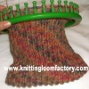 feather yarn knitted hat for hand knitting for Knitting Loom