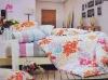 flamboyant printed bedding set
