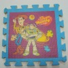 floor floor mat for kid with printing and texture
