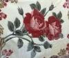 flower printed coral fleece blankets