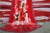 flower printed polyester plush blankets 200x240cm
