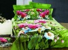 flower printing bed sheet