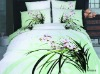 flower printing bedding set