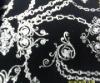 foil print swimwear fabric