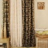 front back double-duty exquisite jacquard curtain