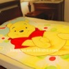 funny and lovely winnie the pooh blanket 150*200cm