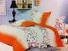 garden style fleece bedding set