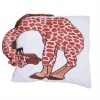 giraffe shaped cushion