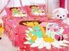 girls cartoon bedding set