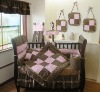 girls nursery bedding set