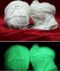 glow in the dark polyester staple fiber(600D)