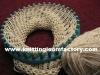 gold knitting metallic yarn for hand knitting for Knitting Loom
