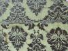 golden-print velvet curtain fabric