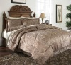 good price high quality  7piece jacquard comforter sets
