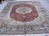 hamadan silk carpets
