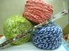 hand knitted yarn
