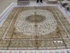 hand knotted imperial chinese silk rug designs