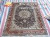 hand knotted silk kashmir oriental rug