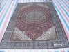 hand made china silk carpet