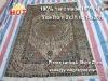 hand made silk rugs persian