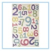 hand tufted Acrylic rug children carpet kid rug number area rug