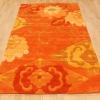 hand tufted acrylic flower rug