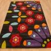 hand tufted acrylic flower rug carpet