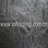 handbag pu leather with elastic knitting base fabric