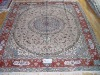 handknotted artifical silk carpet ,persian rugs ,floor carpet