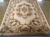 handknotted  wool Aubusson  carpets