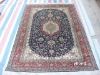 handmade Persian silk carpet