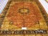 handmade antique washed rug