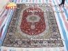 handmade cashmere silk rug and carpet