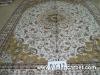 handmade chinese silk rug