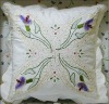 handmade embroidery kids cushion